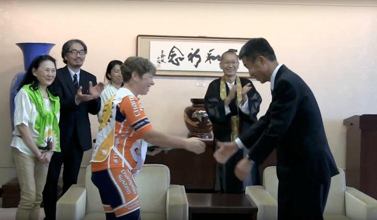 Letter from Hiroshima Mayor