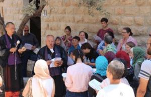 Interfaith Prayer at Bethlehem University 1