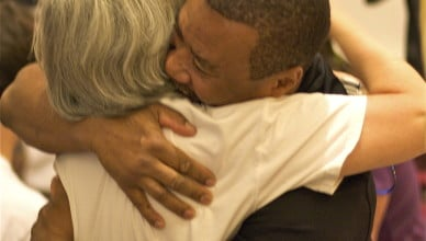 Jeanne hug
