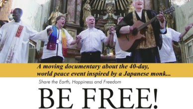 Be Free! Poster