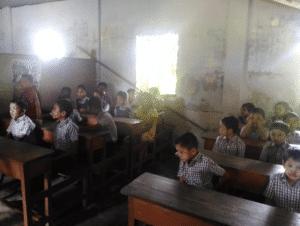 A schoolroom