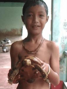 Children of Choflondhi village 1